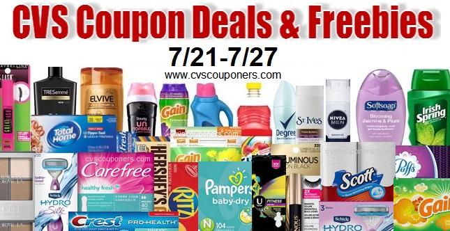 CVS Coupon Deals 7-21-7-27