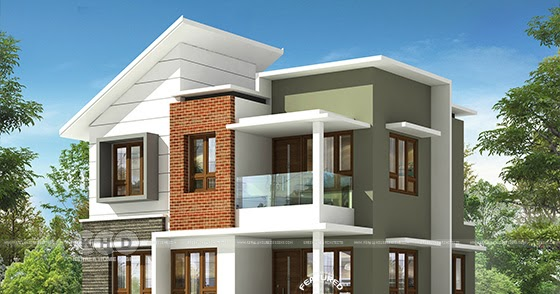 ₹25 lakhs cost estimated 1500 sq-ft contemporary home ...