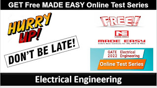 MADE Easy Online Test Series, GATE 2022