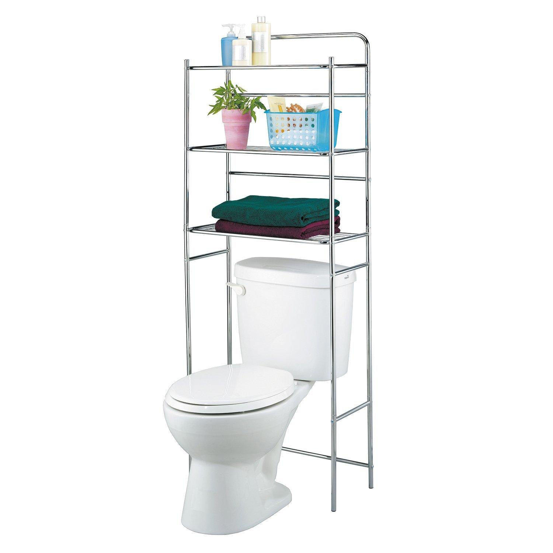 10 idee salvaspazio low cost per bagni piccoli for Mueble encima wc