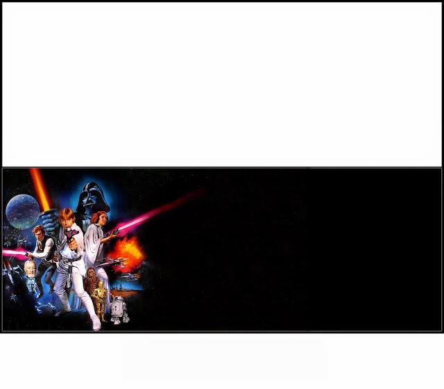 Star Wars: Envoltorios para Chocolates para Imprimir Gratis.