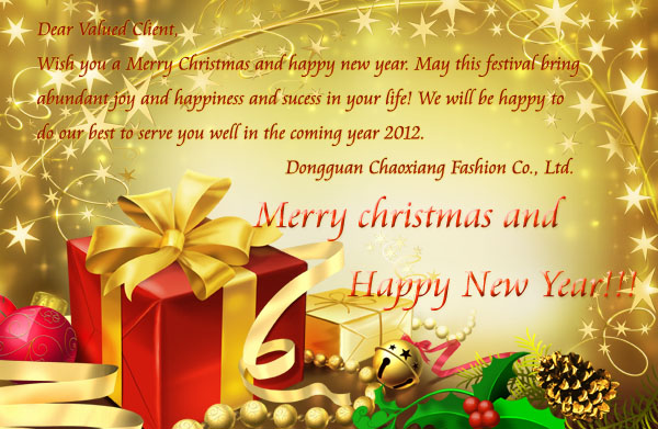 Best happy new year and merry christmas wishes