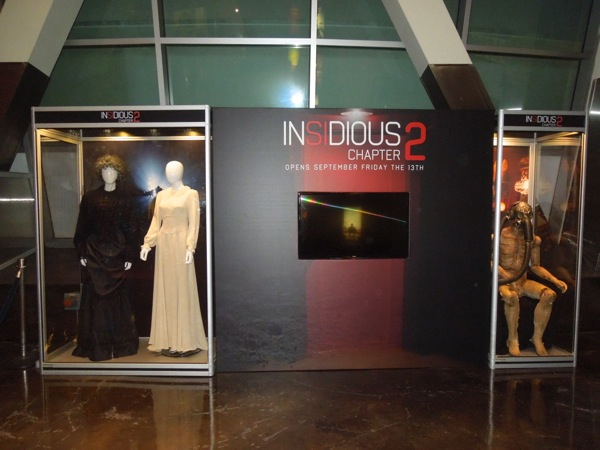 Insidious 2 movie costume prop exhibit