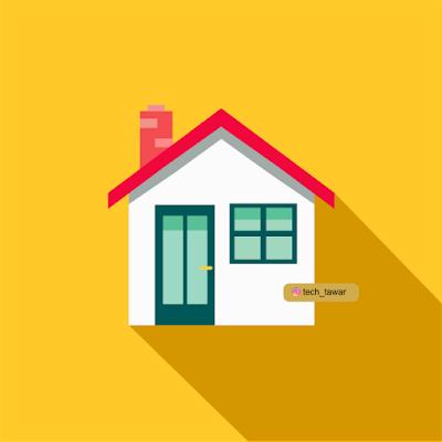 Gratis Design Vector Rumah | Free Vector Home