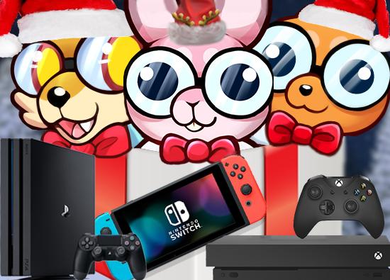 SORTEIO de Um PS4, Nintendo Switch ou Xbox One Você Escolhe!!