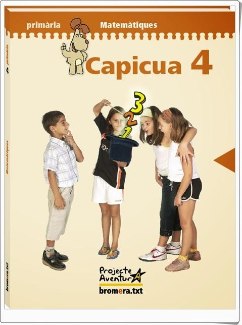 """""""Capicúa 4"""". Actividades digitales de Matemáticas de 4º de Primaria. Ediciones Bromera."""