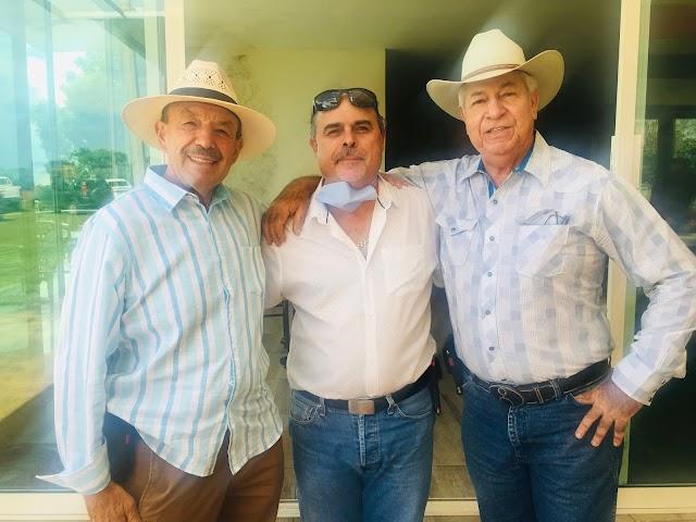 Festejan a Jorge Cortés, Alfonso Gutiérrez y Oscar de Anda