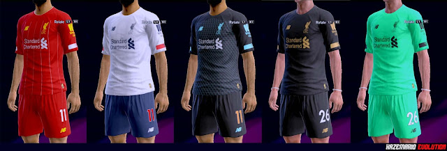 detailed pictures 95fd8 c859b PES 2013 Kits Liverpool FC Season 2019-2020