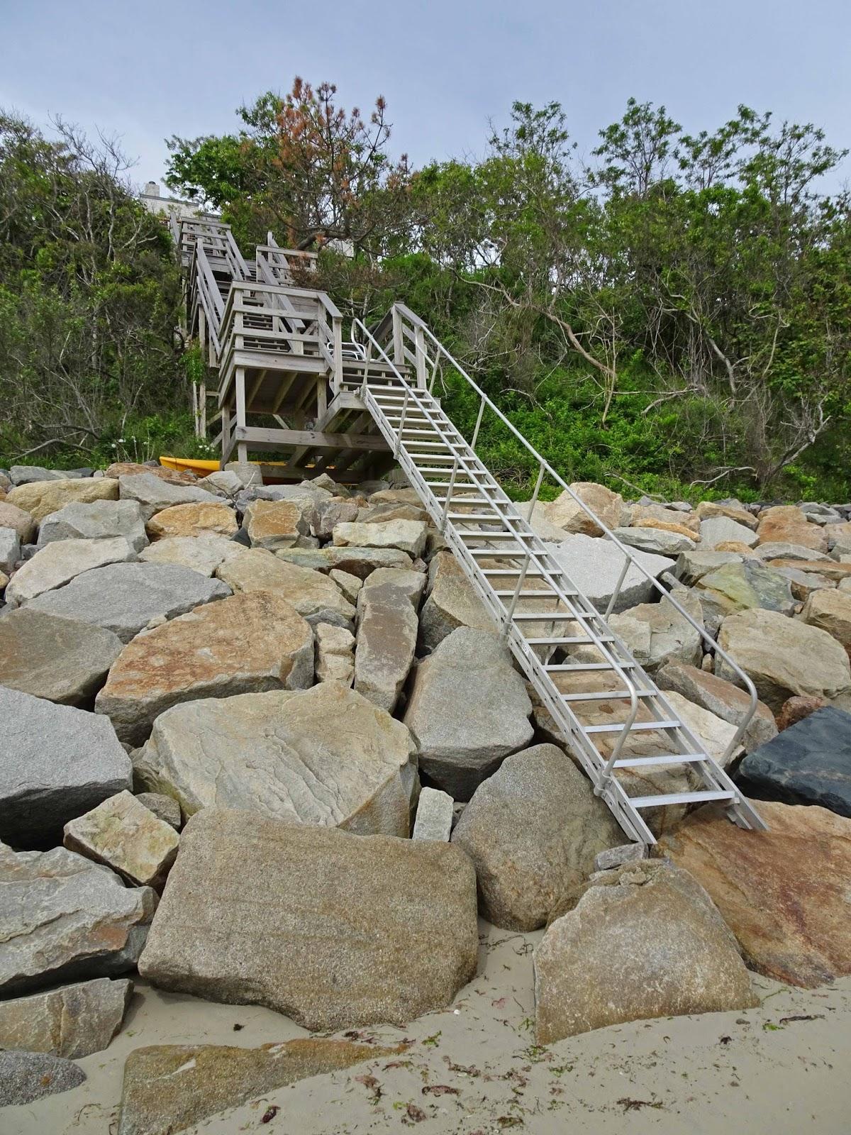 Joe S Retirement Blog Battling Bluff Erosion Manomet