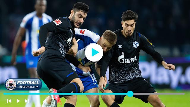 Hertha BSC vs Schalke 04 – Highlights