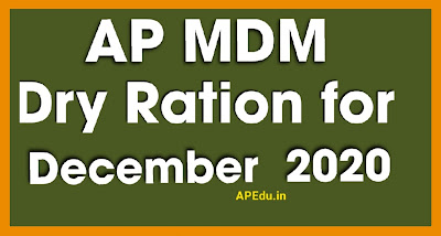 Distribution of December 2020 MDM Dry Ration to all eligible students.