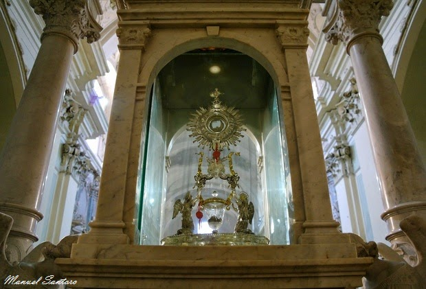 Lanciano, chiesa di San Francesco. Miracolo Eucaristico