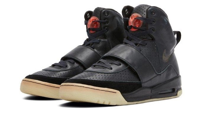 Kanye West's Nike Air Yeezy Sneakers Sell For $1.8 Million, Sets New Record
