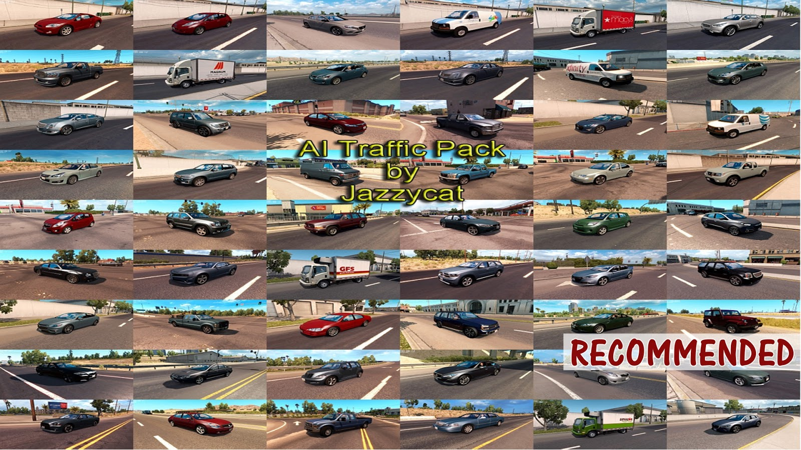 Sinagrit Baba's Workshop: ATS - AI Traffic Pack v6 5 by Jazzycat