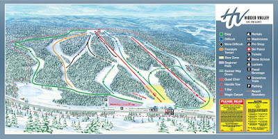 Hidden Valley Ski Resort Map