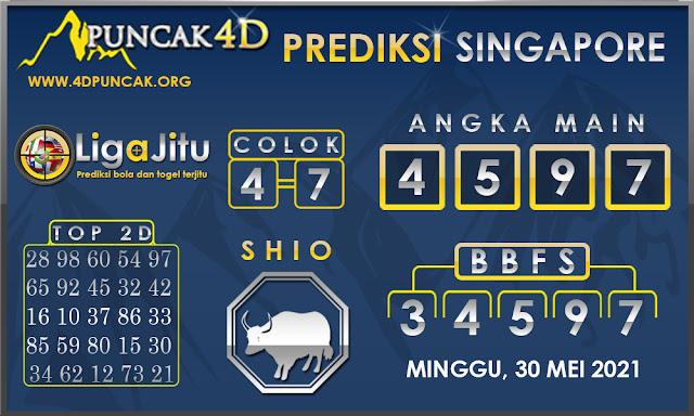 PREDIKSI TOGEL SINGAPORE PUNCAK4D 30 MEI 2021