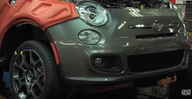 Δείτε πως κατασκευάζονται τα  Fiat 500 (video)