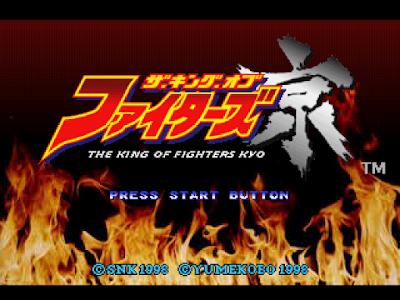 【PS】拳皇-京中文版(The King of Fighters Kyo),很特別的KOF冒險角色扮演!