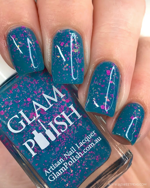 Glam Polish No Scrubs 25 Sweetpeas