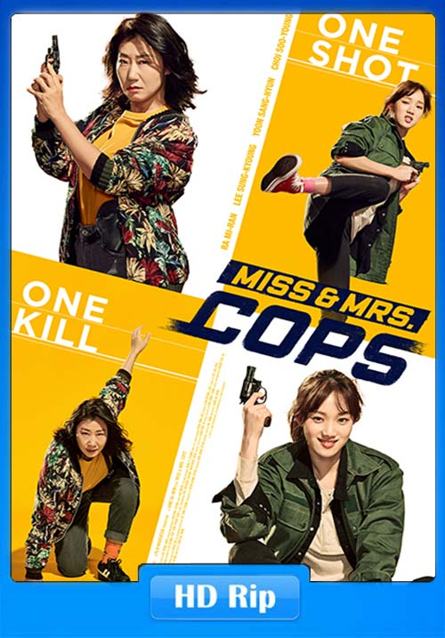 Miss And Mrs Cops 2019 720p WEB-DL x264 | 480p 300MB | 100MB HEVC