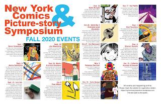 New York Comics & Picture-story Symposium  events calendar