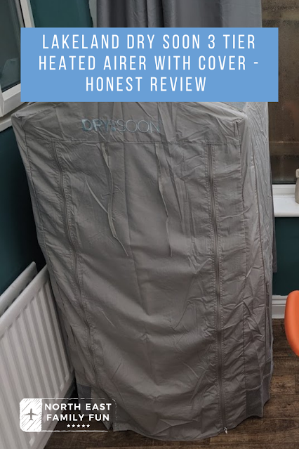 Lakeland Dry Soon 3 Tier Heated Airer with Cover - Honest Review