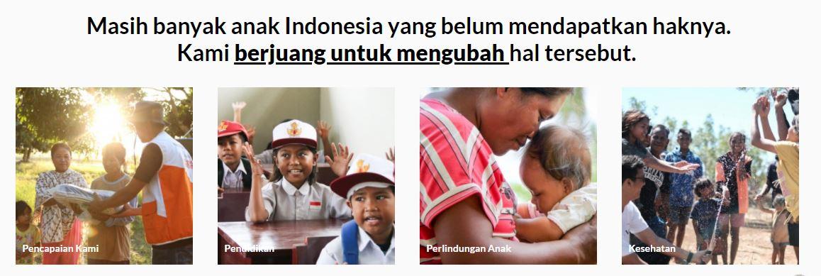 Donasi Melalui Wahana Visi Indonesia