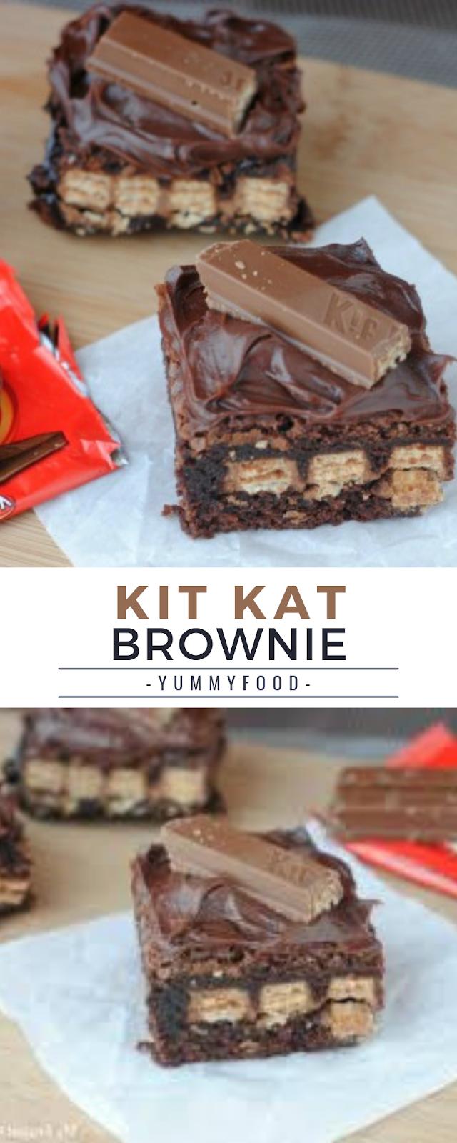 Kit Kat Brownie