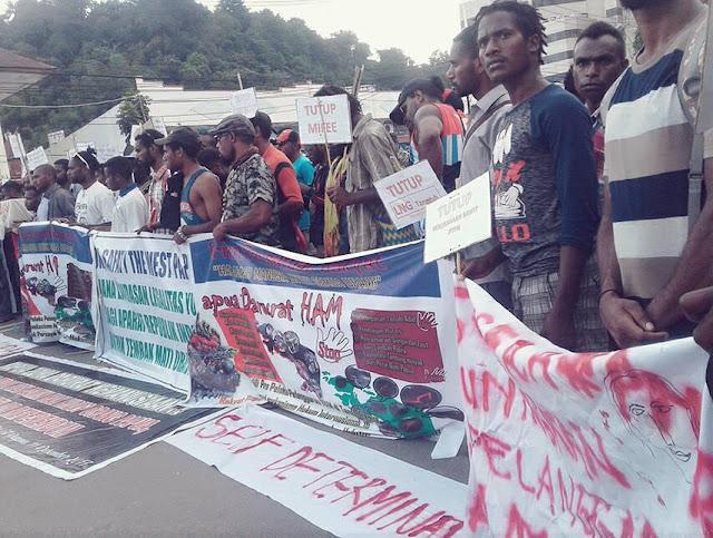 Viktor Yeimo: Aksi tutup Freeport terus berlangsung media tidak lagi liput
