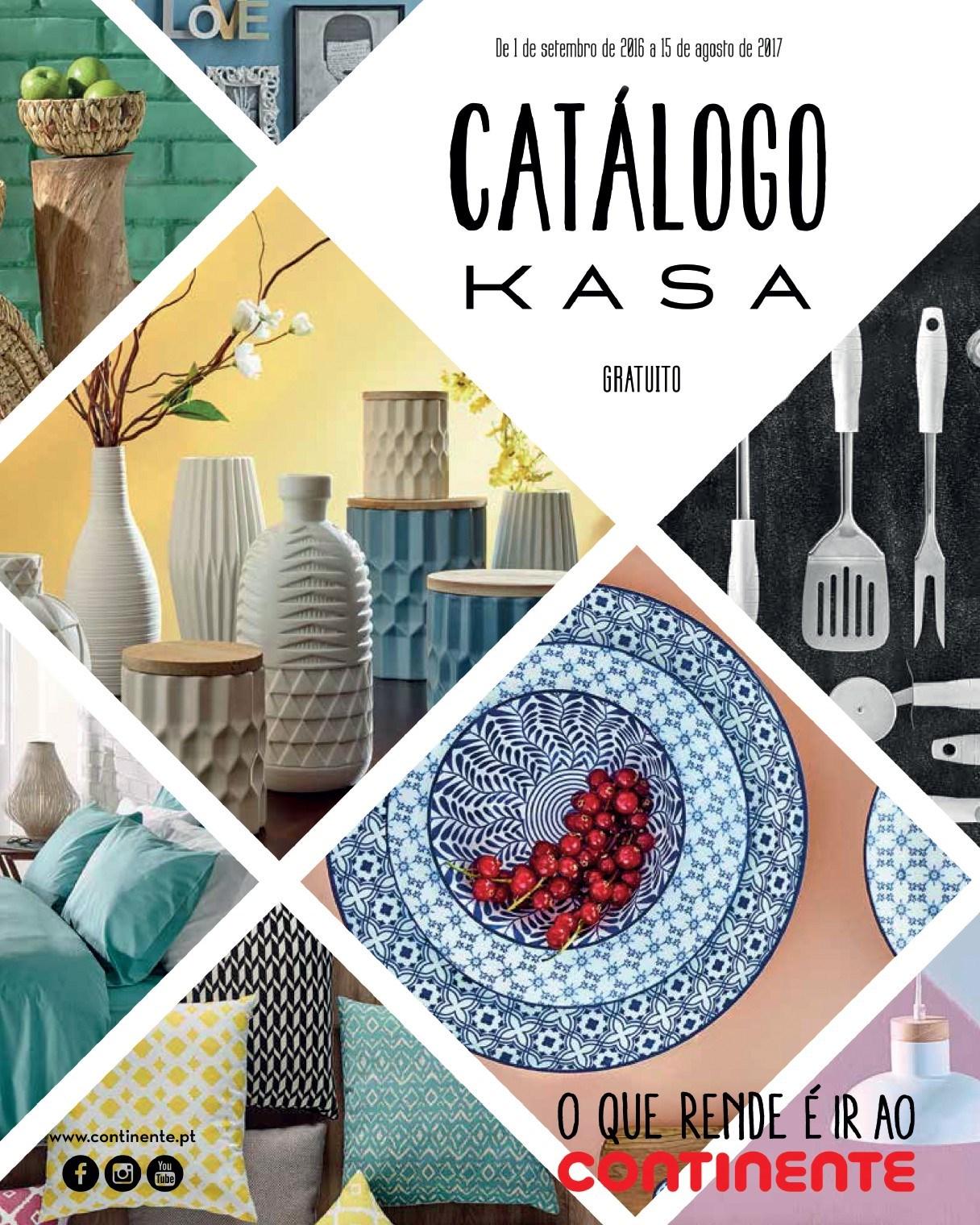 Cat logo kasa continente 2016 17 decora o e ideias for Catalogo bp 2017