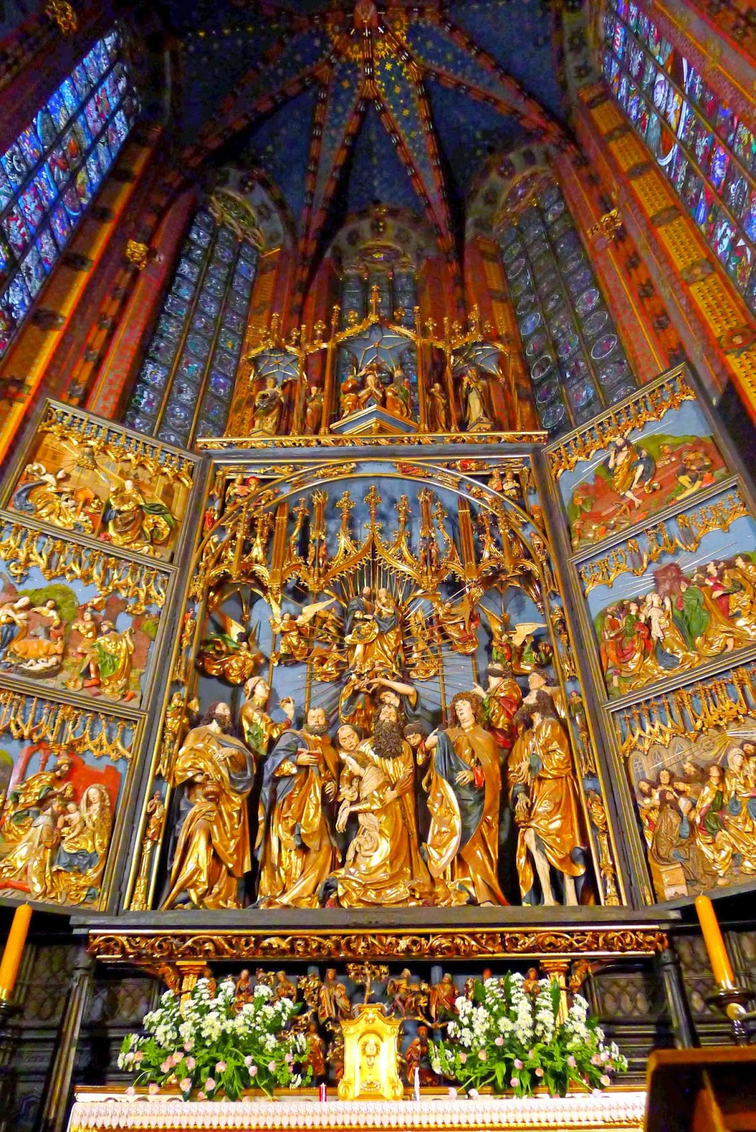 Gothic Altarpiece by Veit Stoss