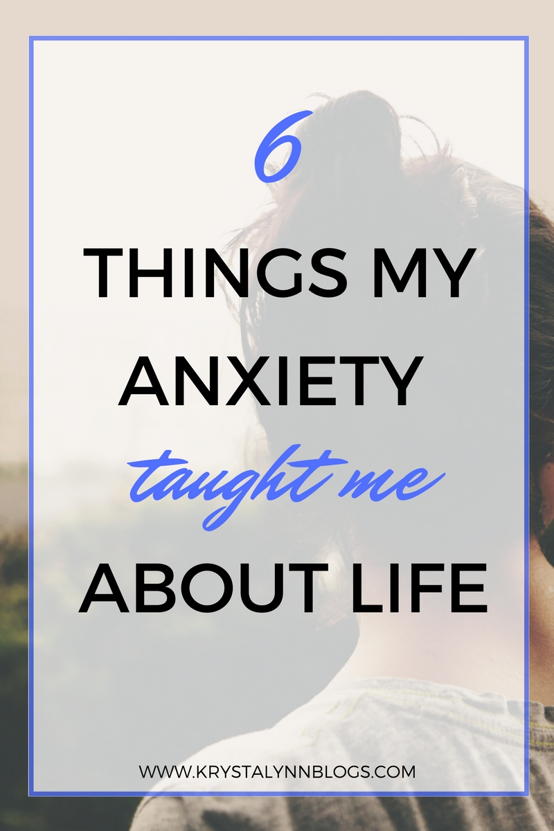 Having to deal with anxiety for over half my life has both been a blessing and a curse. There are days where my anxiety is hard to deal with but there are also days where I feel like my anxiety has taught me more about life than I could have expected to learn any other way.