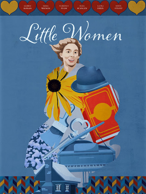 "Shutterstock Celebrates Oscar-Nominated Films With Reimagined Movie Posters - ""Little Women"" Poster by Alex Clem"