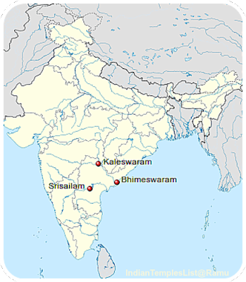 Trilinga Kshetras Draksharamam Temple