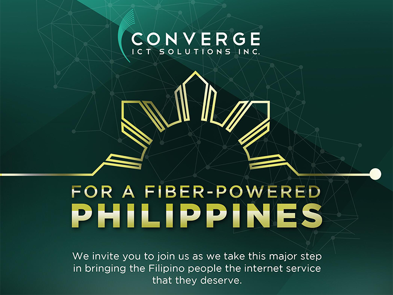 Converge ICT to announce something big on August 6!