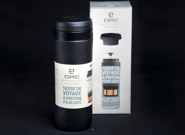 Espro Travel in schwarz Geschenkideen Kaffeetrinker 2017