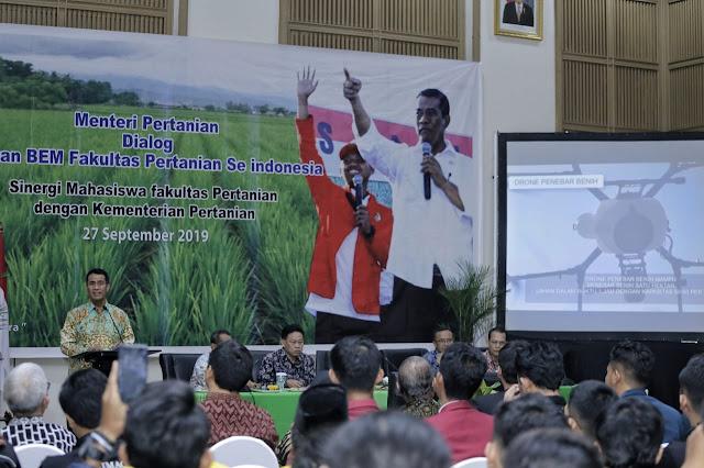 Mahasiswa Pertanian Sampaikan Tidak Ada Dukungan Politis untuk Mentan