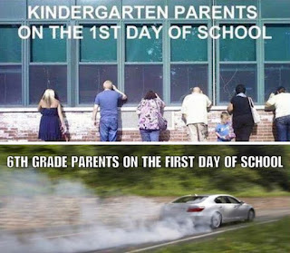 first day of school funny, parenting teenagers funny, junior high funny, funny pictures back to school