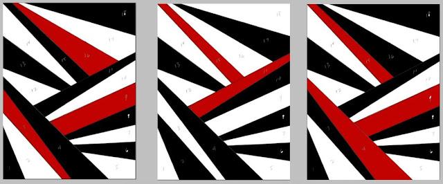 Criss Cross Mini Quilt Pattern by eSheep Designs
