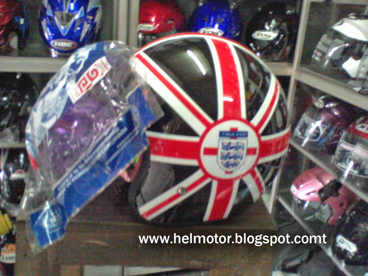 helm vespa bogo england  Helm Vespa