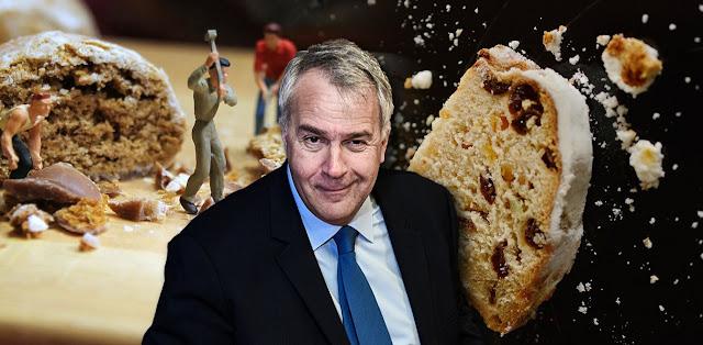 Από χρυσάφι η πίτα του Βορίδη, με κόστος 12.000 ευρώ