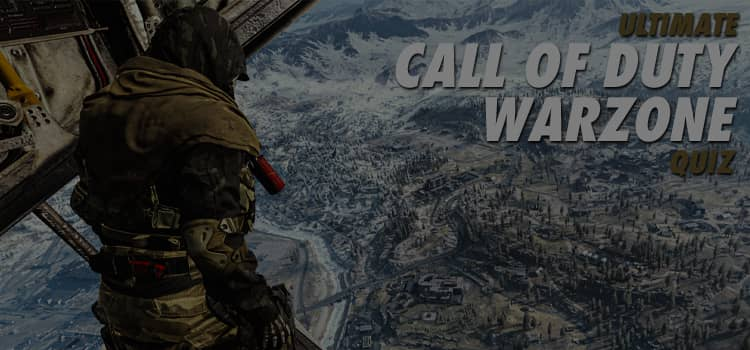 ultimate call of duty warzone quiz answers 100% score