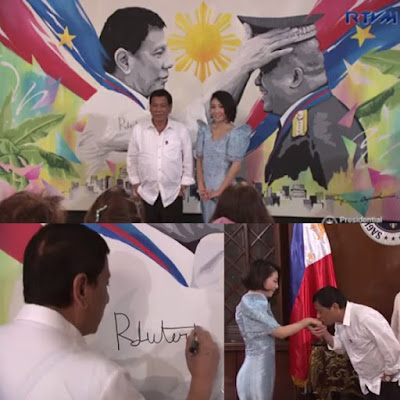 Just In! Watch Visual Artist Ayumi Endo With Japanese Investors Courtesy Call To President Duterte
