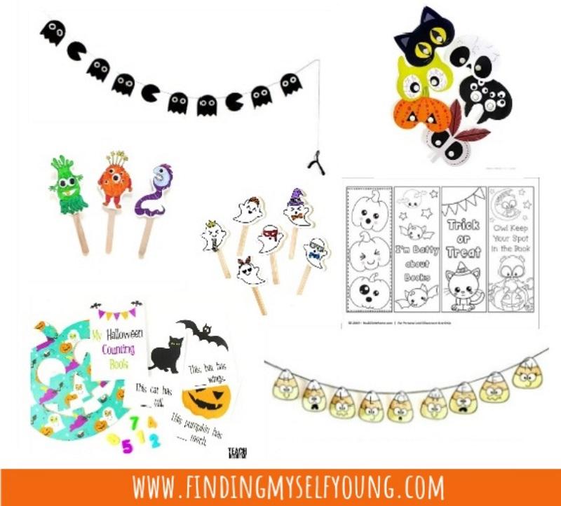 halloween craft printables
