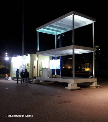 Estructura modular para construir casas modernas económicas