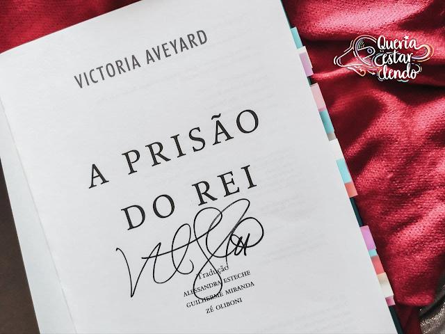 Resenha: A Prisão do Rei - Victoria Aveyard