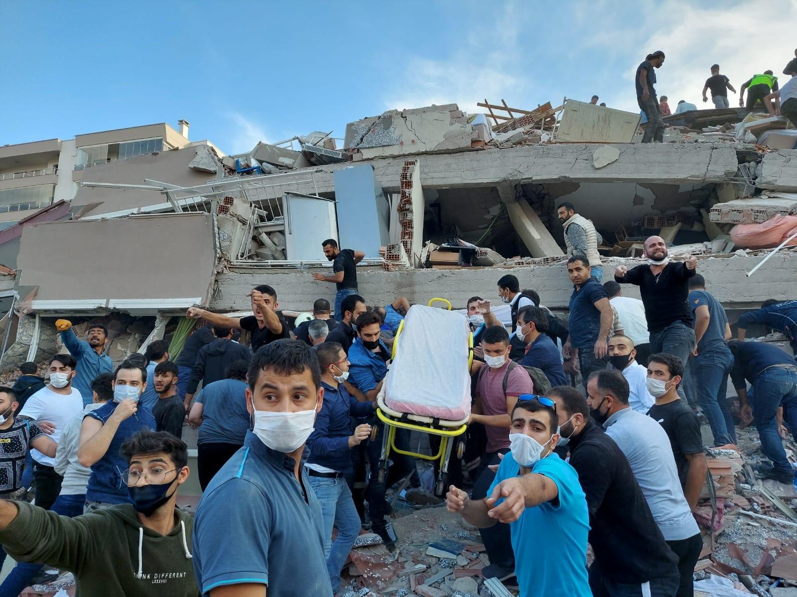 Terremoto y tsunami en Turquía y Grecia