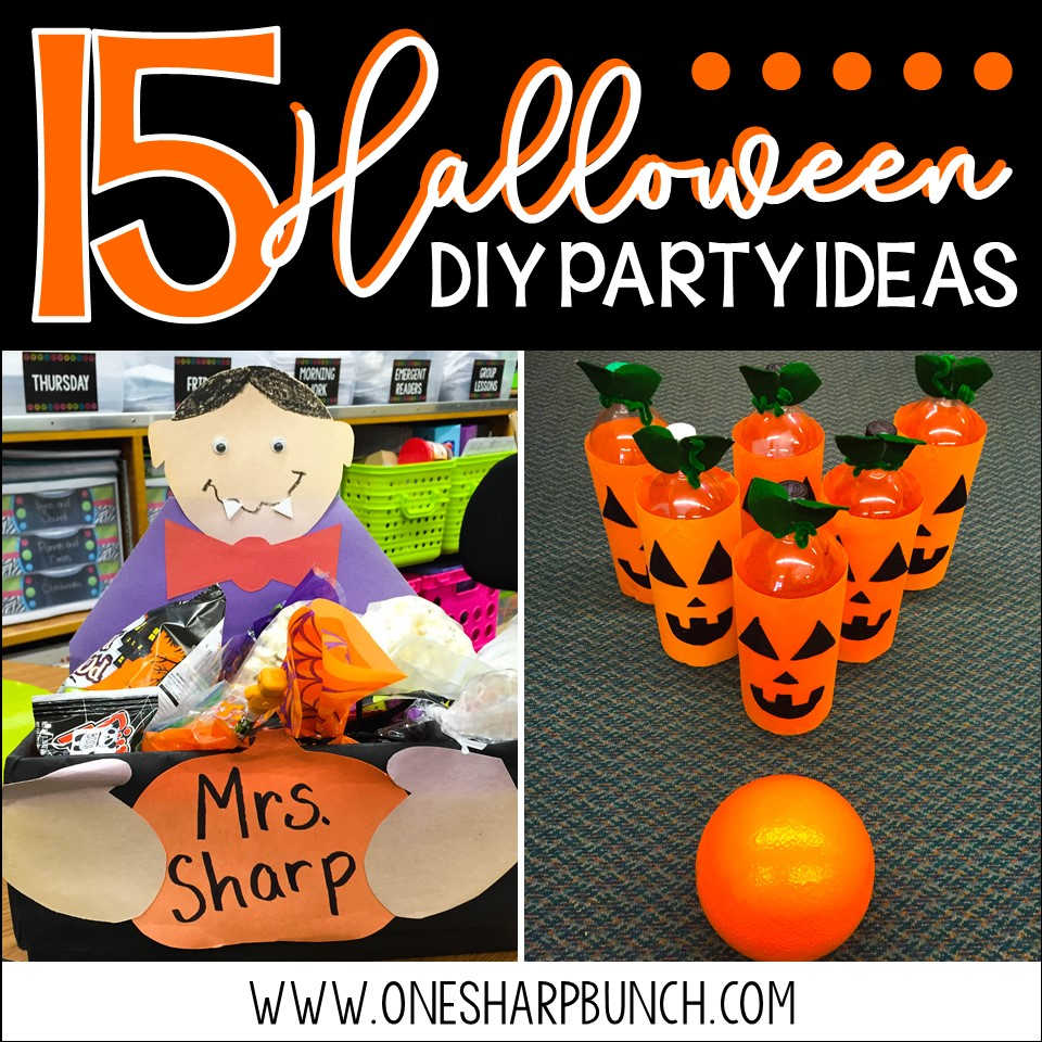 Classroom Game Ideas ~ Diy halloween party ideas for the classroom one sharp