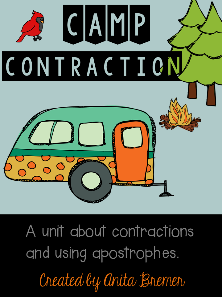 8 engaging literacy center activities for students to learn about contractions! #contractions #literacy #2ndgrade #1stgrade #literacycenters #wordwork