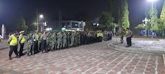 Dandim Pekalongan Pimpin Patroli dan Operasi Gabungan  Cegah Penyebaran Covid-19